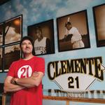Photos: Arriba <strong>Roberto</strong>: Duane Rieder pieces together memorabilia for The <strong>Clemente</strong> Museum