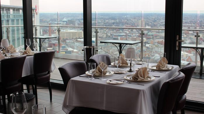 Exclusive: First look inside the Bygone restaurant atop the Four Seasons in Harbor East