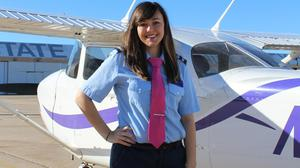 Maddie Perry hopes to blaze a trail for a new generation of women in aviation