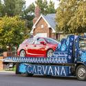 Carvana unveils ugly Christmas sweater on wheels