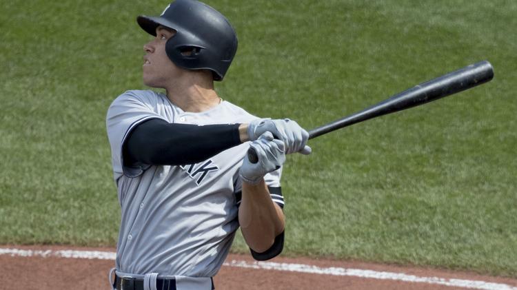 89ac52083 Aaron Judge tops MLB jersey sales list for second straight season ...