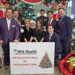 After Hours: McMahon Financial Advisors' Toys for Tots, Leadership Pittsburgh's Holiday Happy Hour, Post-9/11 Veterans Breakfast Club
