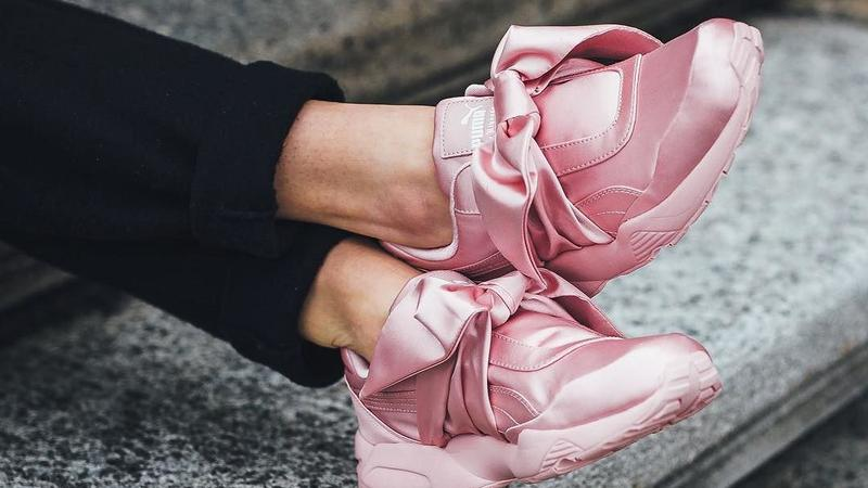 The Fenty Puma Bow was Lyst's most searched for sneaker in 2017 ...