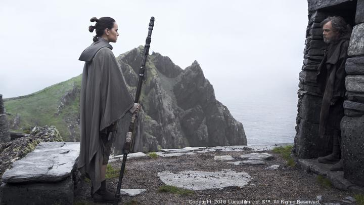 'The Last Jedi' ruled by dynamite leading women