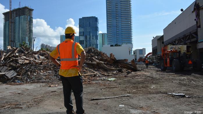 Ward Warehouse demolition tour: Slideshow