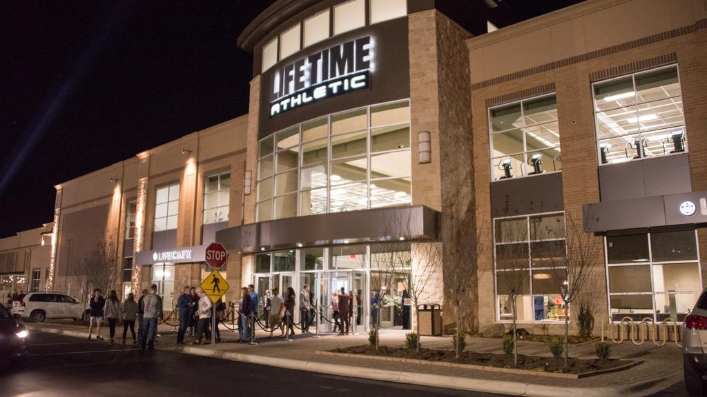 Life Time Athletic Unveils 50m Plus Facility In South Charlotte Slideshow Charlotte Business Journal