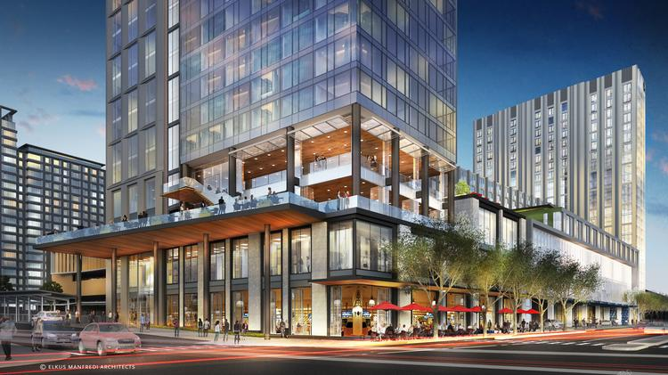 The 1 054 Room Omni Hotel On Summer Street Will Be Machusetts Fourth Largest