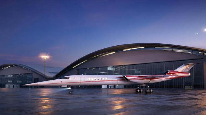 Lockheed Martin plans supersonic business jet