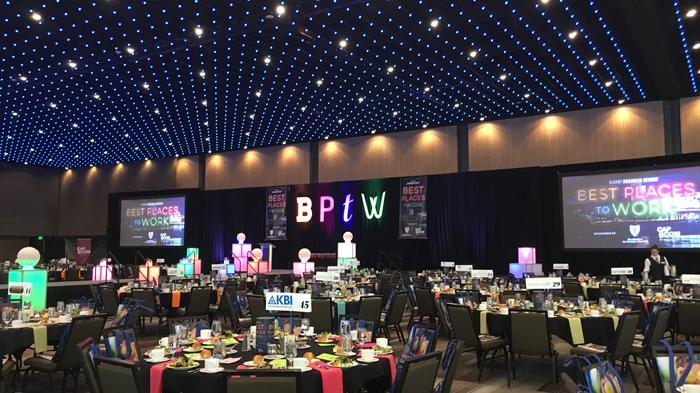 More than 540 people celebrate the Albany area's Best Places to Work