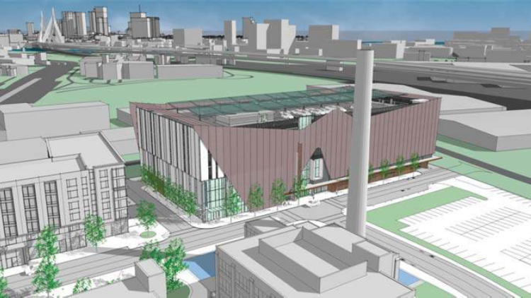 First look: Early plans for Hood Park's 4,000-seat concert hall in on