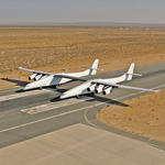 Paul <strong>Allen</strong>'s larger-than-life Stratolaunch aircraft hits the runway in latest tests (Photos)