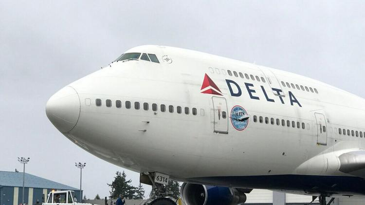 Delta 747 makes its final flight to Minneapolis today