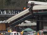 NTSB: Derailed Amtrak train hit 80 mph ahead of 30 mph curve