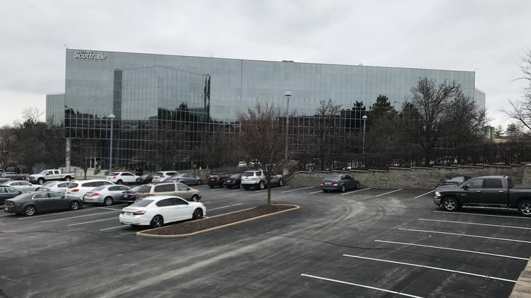 A Scottrade Office Building At 12800 Corporate Hill Drive Which Previously Housed The Companys