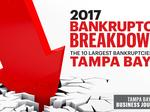 Year in Review: 10 largest Tampa Bay area bankruptcies in 2017