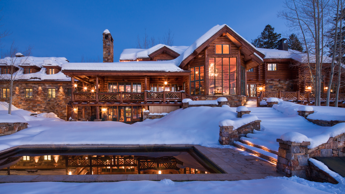 Inside The Aspen Mansion That Just Sold For 15 5 Million