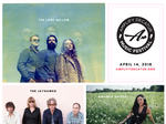 The Lone Bellow, The Jayhawks, Amanda Shires to perform at 2018