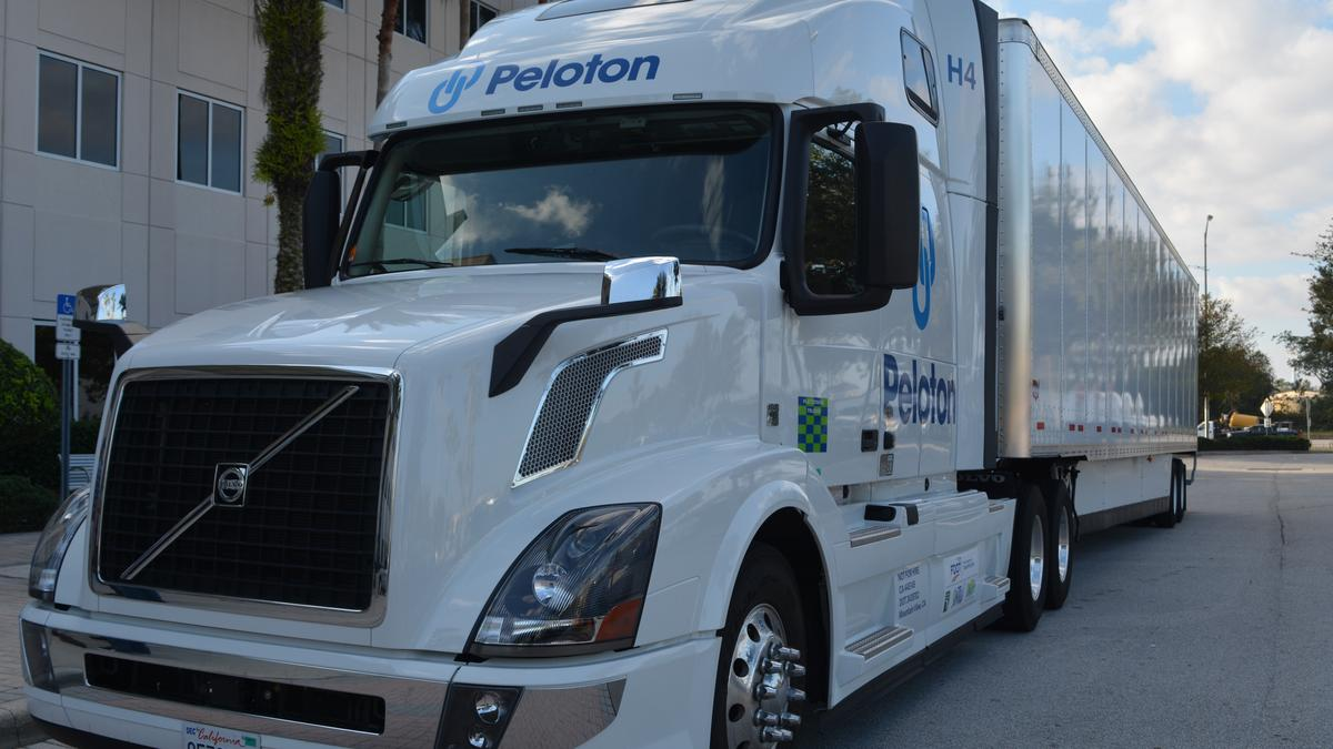 Florida turnpike fdot unveil new truck platooning for Department of motor vehicles orlando fl