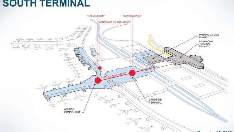 food miami airport terminal map