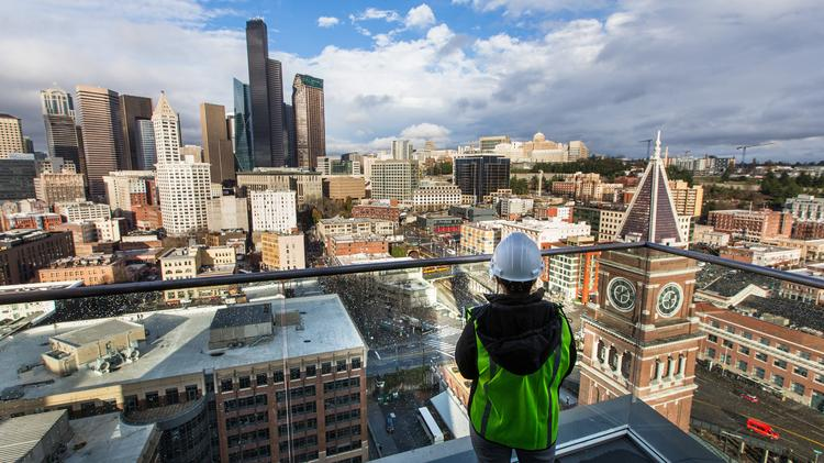 First Look Seattle S New Embassy Suites Hotel Tower Has Views