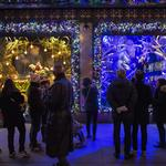 Festive windows becoming ghosts of Christmases past