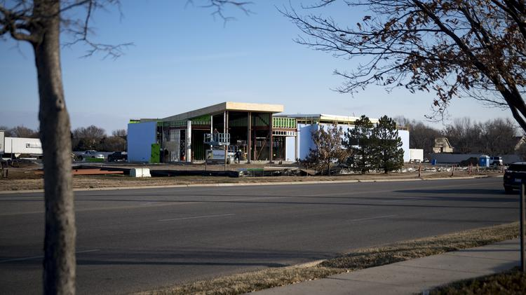 Kansas Medical Center is constructing a 10,000-square-foot health care facility near the northeast corner of 21st Street North and Webb Road.