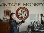 Female entrepreneur breaks barriers at motorcycle shop, event space