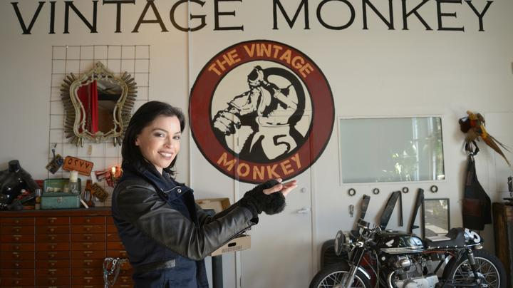 Shasta Smith is revved up over vintage motorcycles