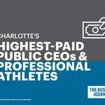 How Charlotte CEO pay compares to sports stars