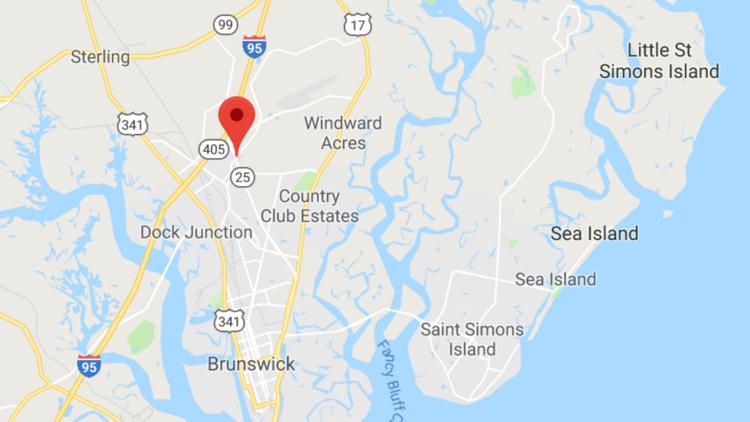 Map Of Georgia 95.189 Acre Mixed Use Project Proposed Near Georgia Coast Atlanta