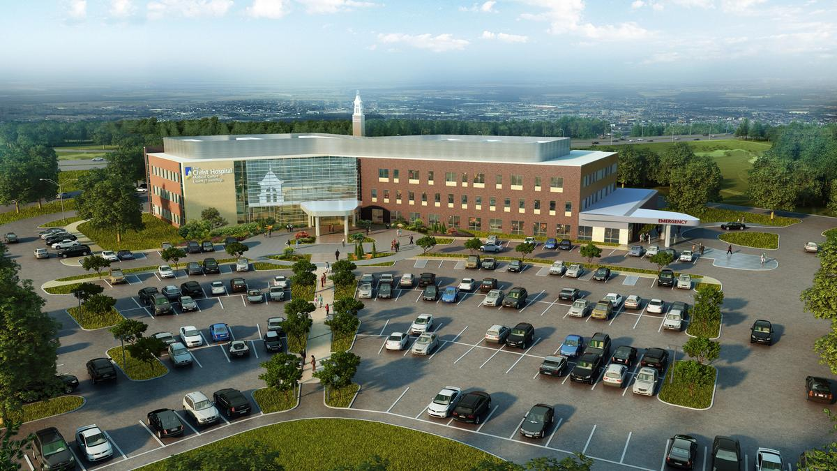 Christ hospital ready to open massive medical center in liberty township dayton business journal for Garden grove hospital and medical center