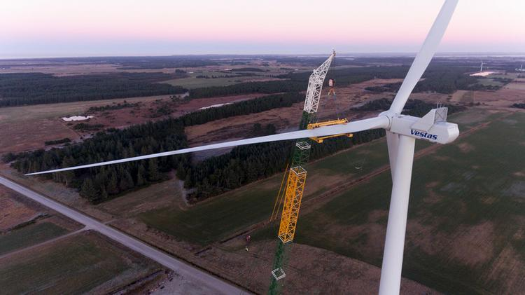 Apple wind farm in Oregon will use 51 Vestas turbines