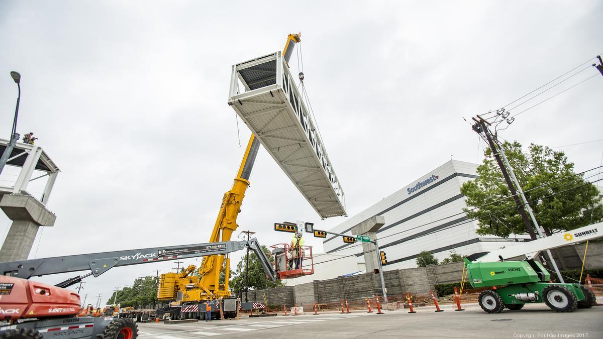 Dallas-based Southwest Airlines opens new pedestrian bridge ...