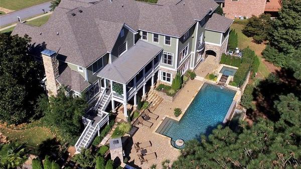 Custom Home with Golf Course Vistas!