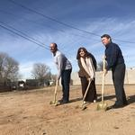 Health care leader breaks ground on co-working space in Northeast Heights