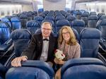 Mile-high marriage: Delta flight attendant, pilot marry on 747s last flight to Arizona