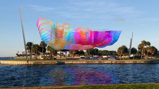 Do you like the Janet Echelman sculpture proposed for Spa Beach in St. Petersburg?