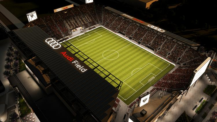9fed72554 D.C. United will officially open Audi Field on July 14 in a match against  the Vancouver