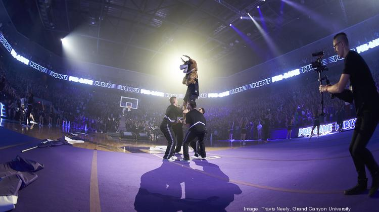 Grand Canyon University athletics have NCAA Division 1 status.