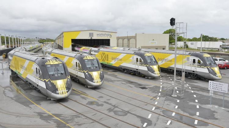 A Preview Of Brightline The Miami To Orlando Passenger Train Project South Florida Business Journal