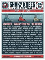 Jack White, Queens of the Stone Age, The National to headline Shaky Knees Music Festival in Atlanta
