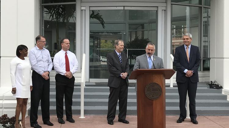 Raymond James, already the largest private employer in St. Petersburg, will add 650 jobs, said Mayor Rick Kriseman.