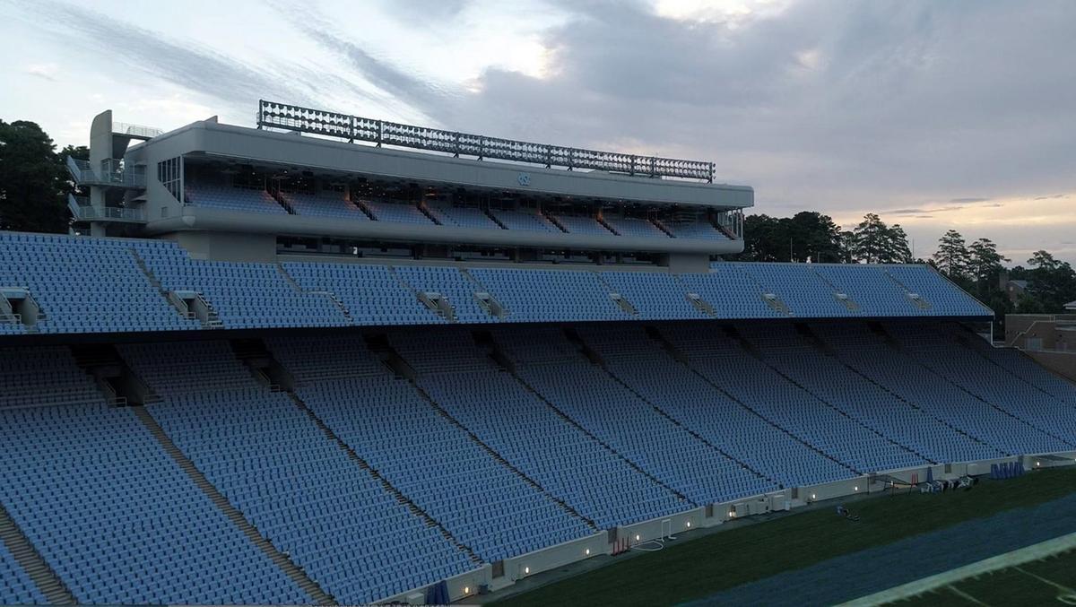 Unc Adding Seat Backs Cutting Capacity At Kenan Stadium