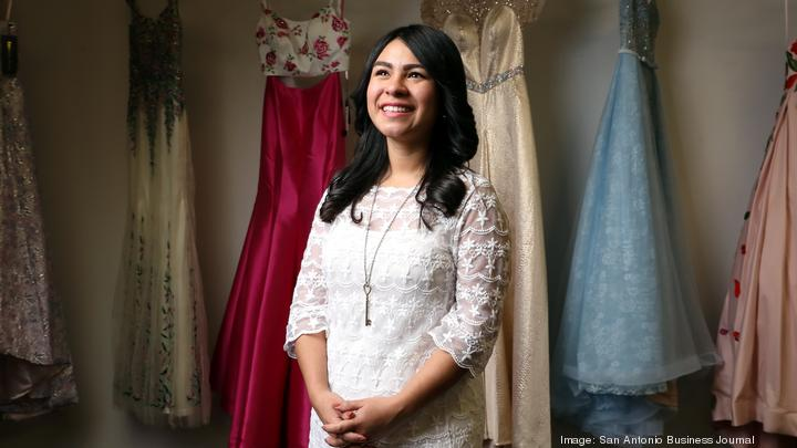 She's changing girls' lives one prom dress at a time