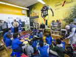 Packers' Clinton-Dix teams with Quarles & Brady to set up reading room in Milwaukee school: Slideshow