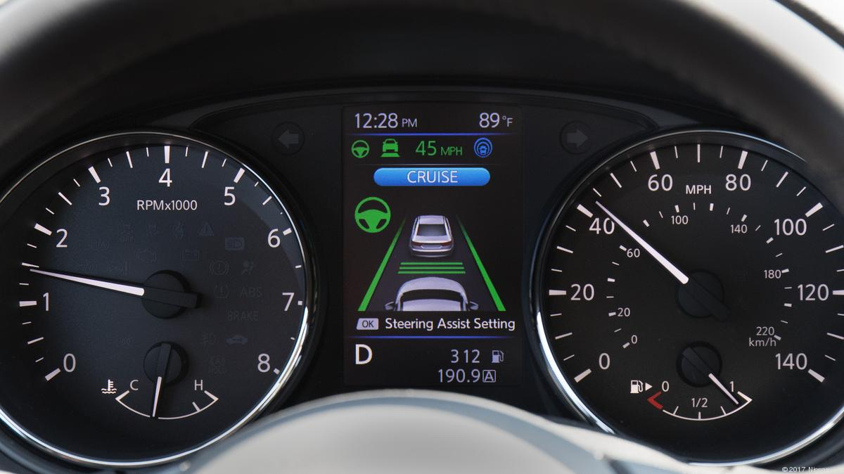 Automotive Minute Nissan Alters Propilot Semi Autonomous Driving Digital Radar Speedometer Technology For North America With Positive Results Atlanta Business Chronicle