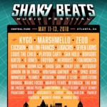 Kygo, Marshmello, Zedd to headline Shaky Beats Music Festival in Atlanta