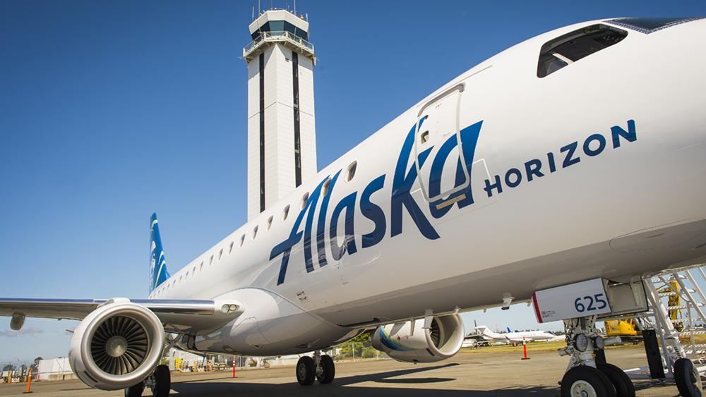Alaska Air Group S Horizon Air Regional Airline Names Gary