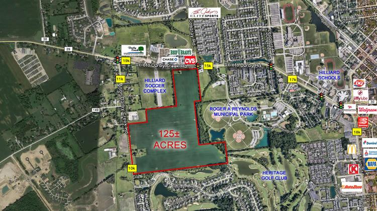 Hilliard Zip Code Map.125 Acres Of Land For Sale In Hilliard Columbus Business First