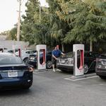 Electric vehicle tax credit survives, but G.<strong>M</strong>. and Tesla aren't cheering